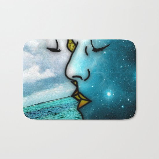 Lover's Kiss Bath Mat