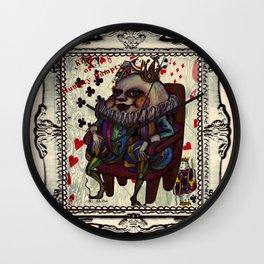 King Of Humpty Dumpty Wall Clock