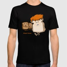 Ginger Bread Black Mens Fitted Tee LARGE