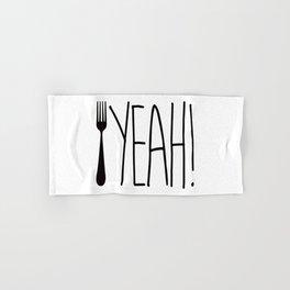 Fork Yeah! Hand & Bath Towel