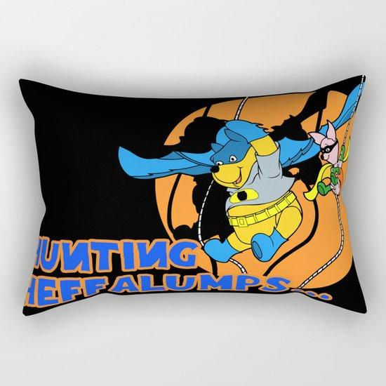 Bat Pooh! Rectangular Pillow