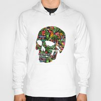 tiki Hoodies featuring Tiki Skull by spacecolour