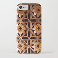 reassurance iPhone & iPod Cases featuring wood work II by Magdalena Hristova