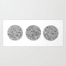 City Circles Art Print
