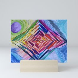 Diamond Web Mini Art Print