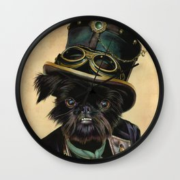 Sir Cornelius Kirby (steampunk) Wall Clock