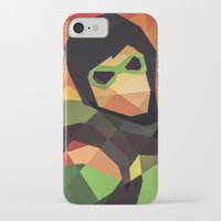 dc comics iPhone & iPod Cases featuring DC Comics Green Arrow by Eric Dufresne