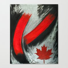 Pride of Canada, the Maple leaf! Canvas Print