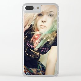 Anny Bunny - Bad Girl 1 Clear iPhone Case