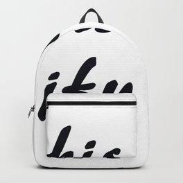This is My Waifu Backpack