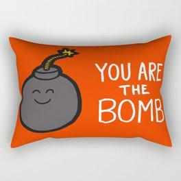 You are the Bomb Rectangular Pillow