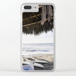 Windansea Shack Clear iPhone Case