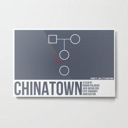 Chinatown Metal Print