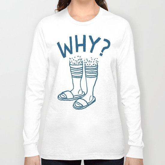 Soccer Socks Long Sleeve T-shirt