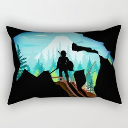 The Wild Hero Rectangular Pillow
