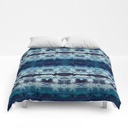 Boho Ombre' Blues Comforters