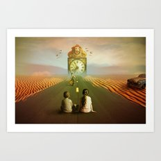 Time to grow up Art Print