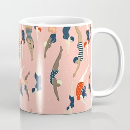 Vintage diving ladies Coffee Mug