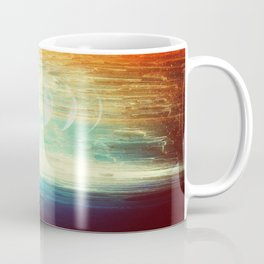 Lunar Phase Beach Coffee Mug