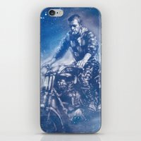 steve mcqueen iPhone & iPod Skins featuring McQueen by Scott Dickson