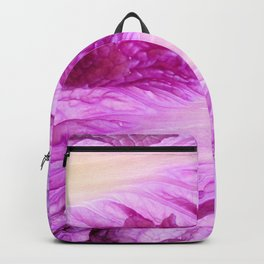 Purple Cabbage Beautiful Abstract Patterns By Nature Backpack