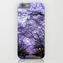 Sakura Walk iPhone Case