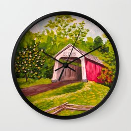 Beeson Bridge Wall Clock
