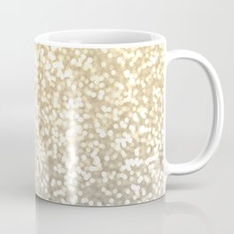 Gold and Silver Glitter Ombre Coffee Mug