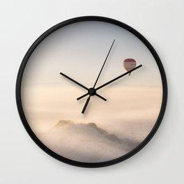 Hot-Air Balloon I Wall Clock