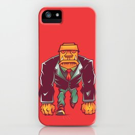 Winston Bricks iPhone Case