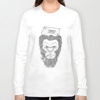 bigfoot Long Sleeve T-shirts featuring Bigfoot  by Observer