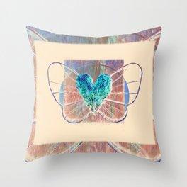 Elysium 2t by Kathy Morton Stanion Throw Pillow