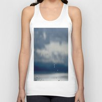 aperture Tank Tops featuring The Sky Resting on Water by Jane Lacey Smith