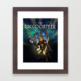 The Raccoonteer Framed Art Print