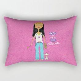 Dogs Are Little Assitants Rectangular Pillow