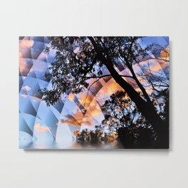 Digital Nature Metal Print