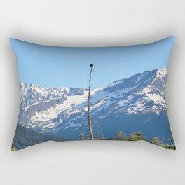 Perch With A View - III Rectangular Pillow