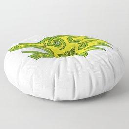 Boar Head Celtic Knot Floor Pillow