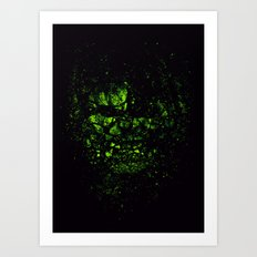 THE INCREDIBLE HULK Art Print