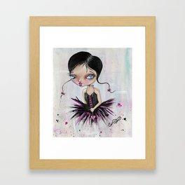 Heart Break Ballet Framed Art Print
