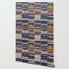 Old 80's and 90's Hip Hop Tapes v2 Wallpaper