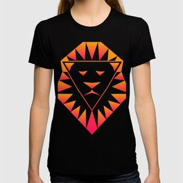 Trippy Psychedelic Rave Lion T-shirt
