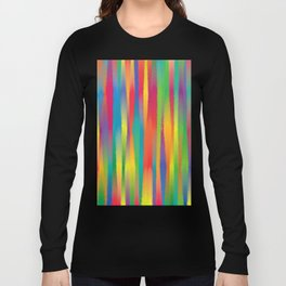 Paint Yourself In Stripe Long Sleeve T-shirt