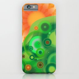 Be Like A Tree iPhone Case