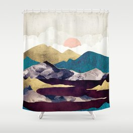 Wine Lake Shower Curtain