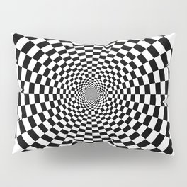 UV Sphere Top Illusion Black and White Pillow Sham