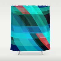 discount Shower Curtains featuring Breaking through by R Jordan