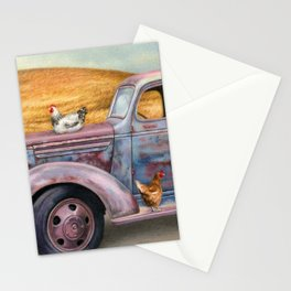 Where The Hens Gather Stationery Cards