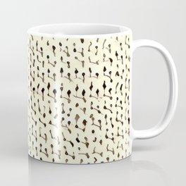White Stockinette Coffee Mug