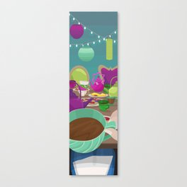 A Very Merry Unbirthday Canvas Print